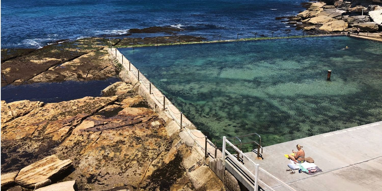 Wylie's Baths heritage listed ocean tidal pool